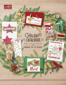 Stampin' Up Holiday 2016 Catalogue- coming Sept 1st!