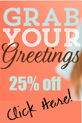 Grab Your Greetings Sale