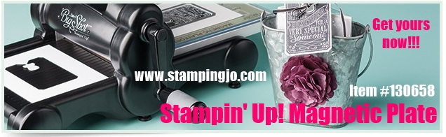 Stampin' Up! Magnetic Plate