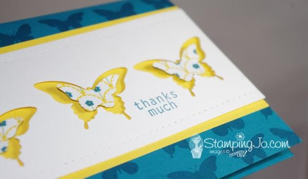 Gingham Garden Butterfly Card2