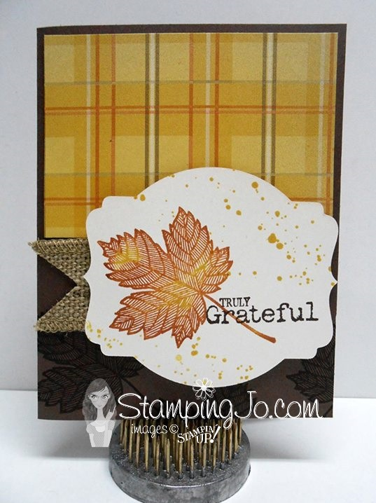 Magnificient Maple Stampin' Up