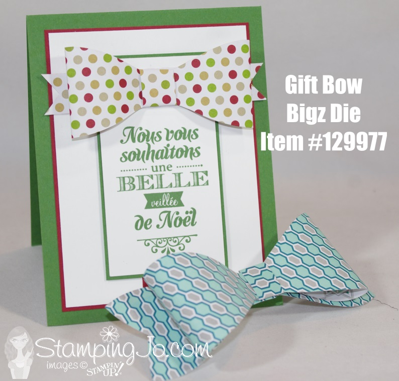 Bigz Bow Die Stampin' Up