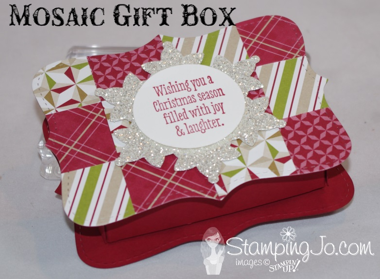 Mosaic Gift Box Stampin Up1