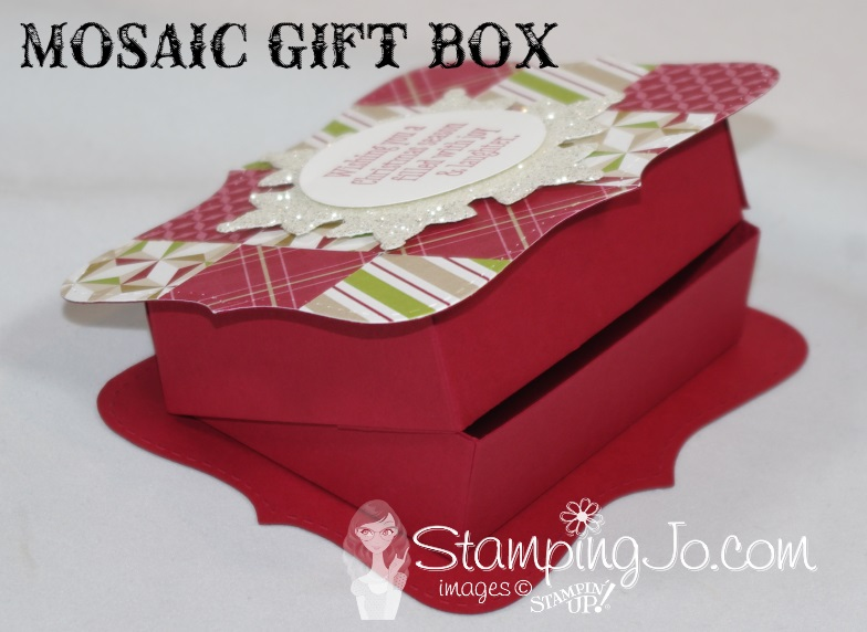 Mosaic Gift Box Stampin Up2
