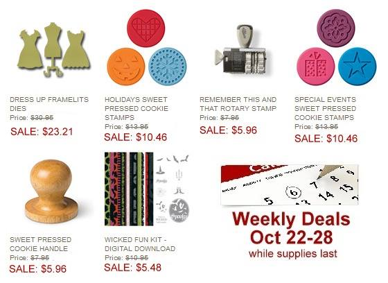This Week's Weekly Deal PLUS a fun new product!