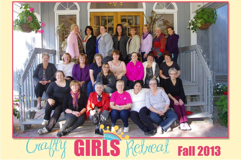 Crafty Girls Retreat Re-Cap