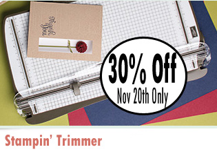stampin' trimmer