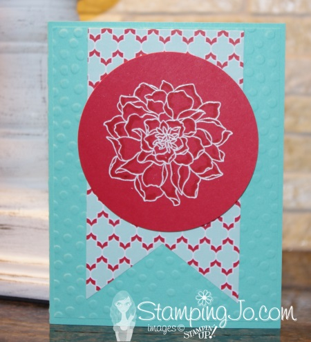 Peaceful Petals Stampin Up 1