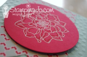 Peaceful Petals Stampin Up 3