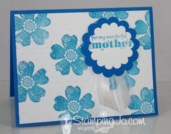 stampin up mothers day card 1