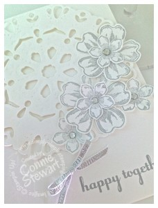 Stampin' Gals Gone Wild Wednesday- Darling Doily