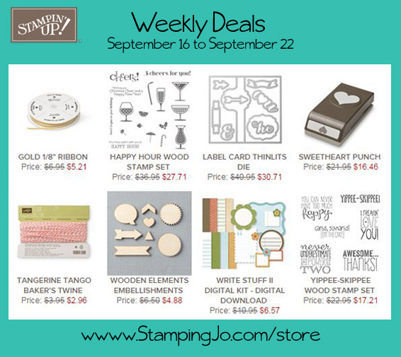 weekly deals week of Sept 16