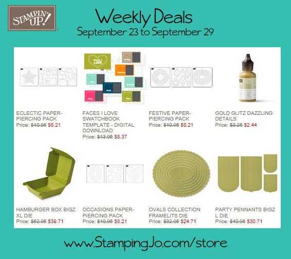 weekly deals week of Sept 23