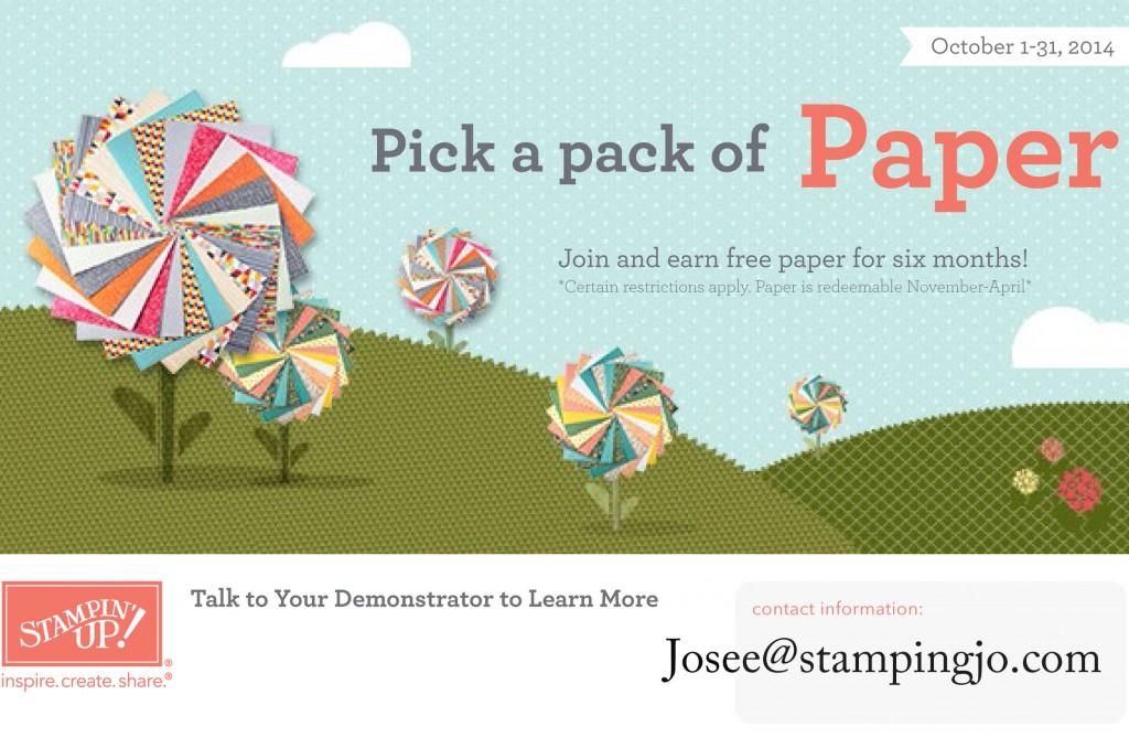paper promo