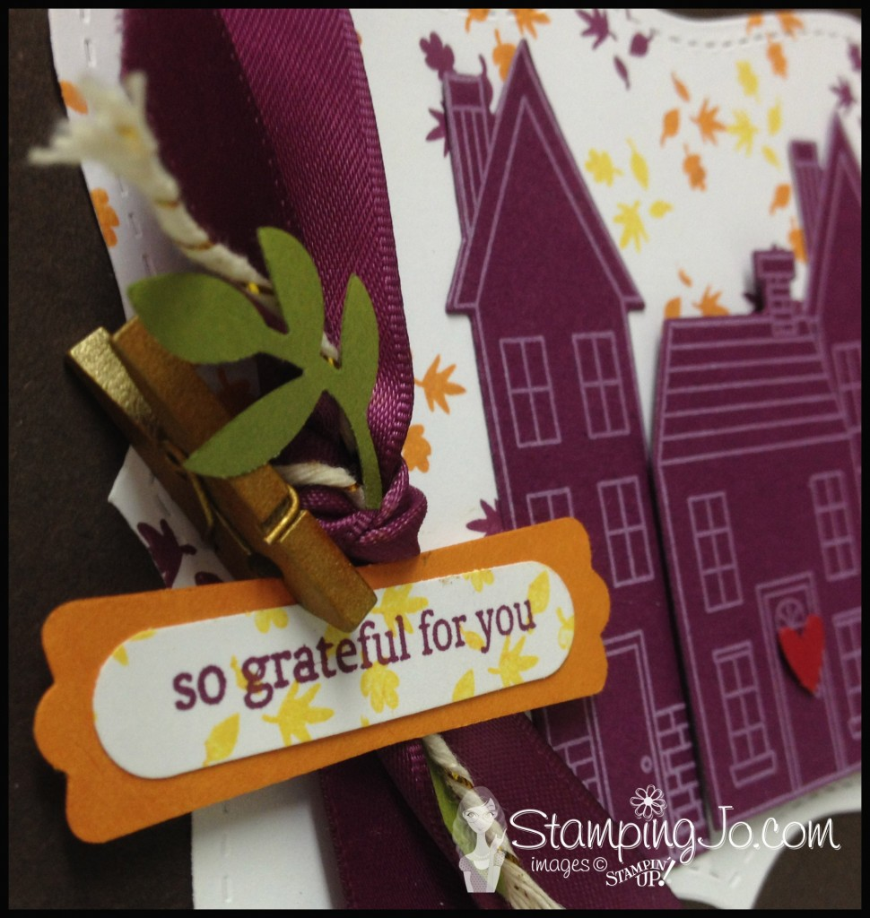 thankful card closeup