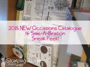 stampingjo's catalogue sneak peek