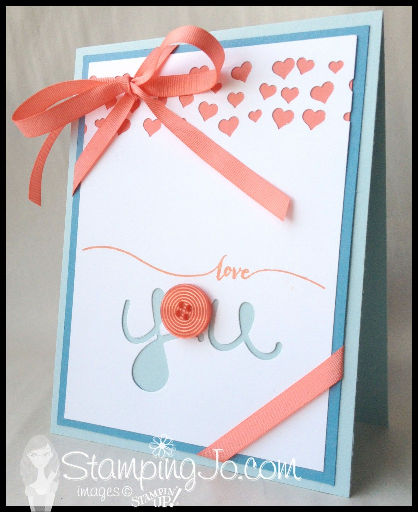 StampingJo, Hello You Thinlits, Hello Life, Heart Confetti Border Punch, Best Year Ever Accessory Pack