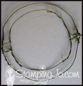 StampingJo Wreath form