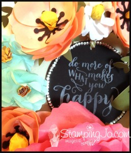 Build a Bouquet Wreath, stampin up