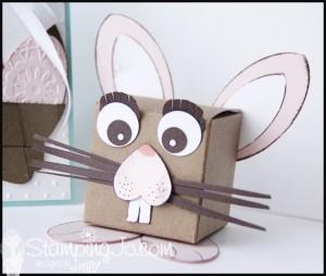 StampingJo Easter bunny box