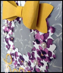 StampingJo wonderful wreath bow builder punch