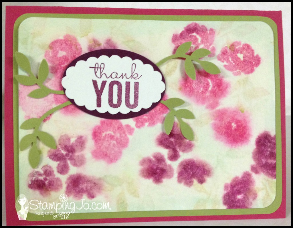 stamping jo painted petals watercolour