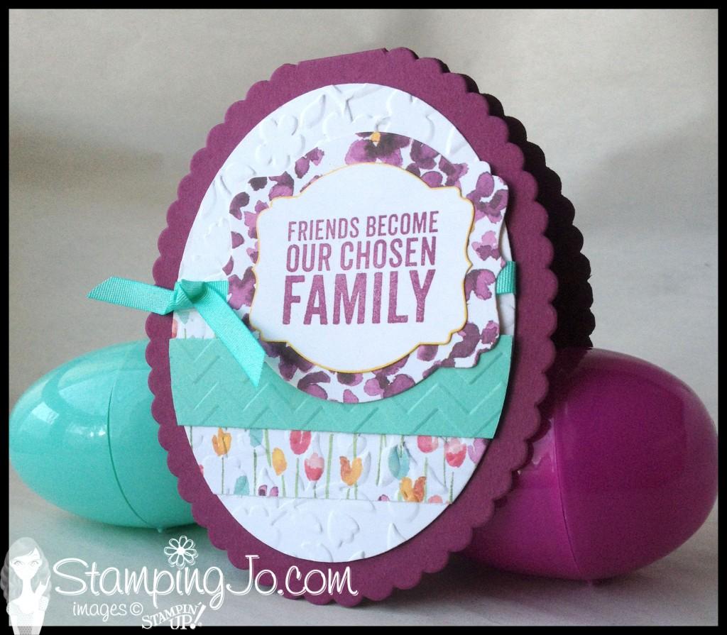 StampingJo Easter Egg card