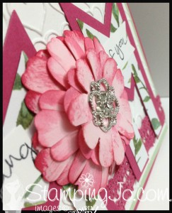 StampingJo layered flower punch