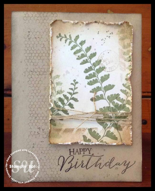 Fern card