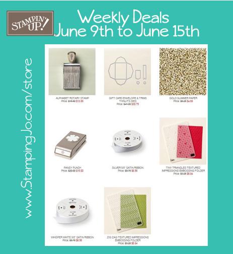 weekly deals week of june 9
