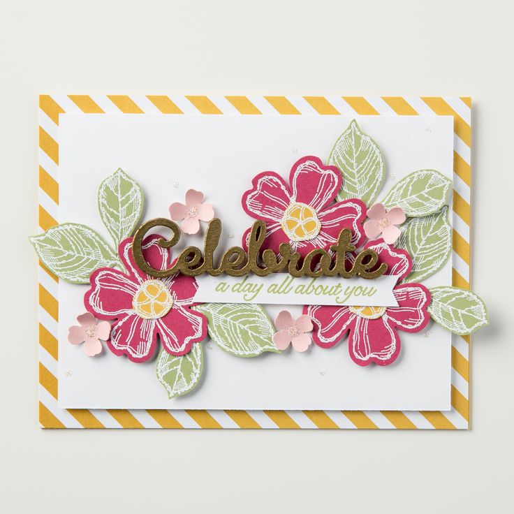 birthday blossoms- stampin up
