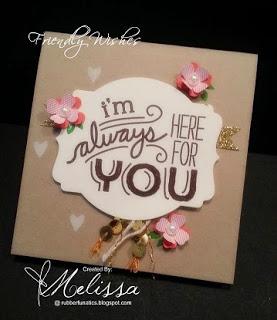 friendly wishes melissa davies
