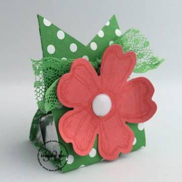 birthday blossom treat holder