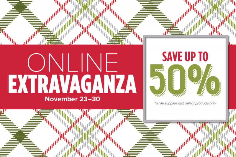 Online Extravaganza this week only!! www.stampingjo.com/store