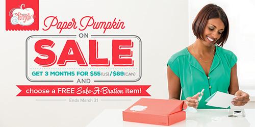 Paper Pumpkin promo