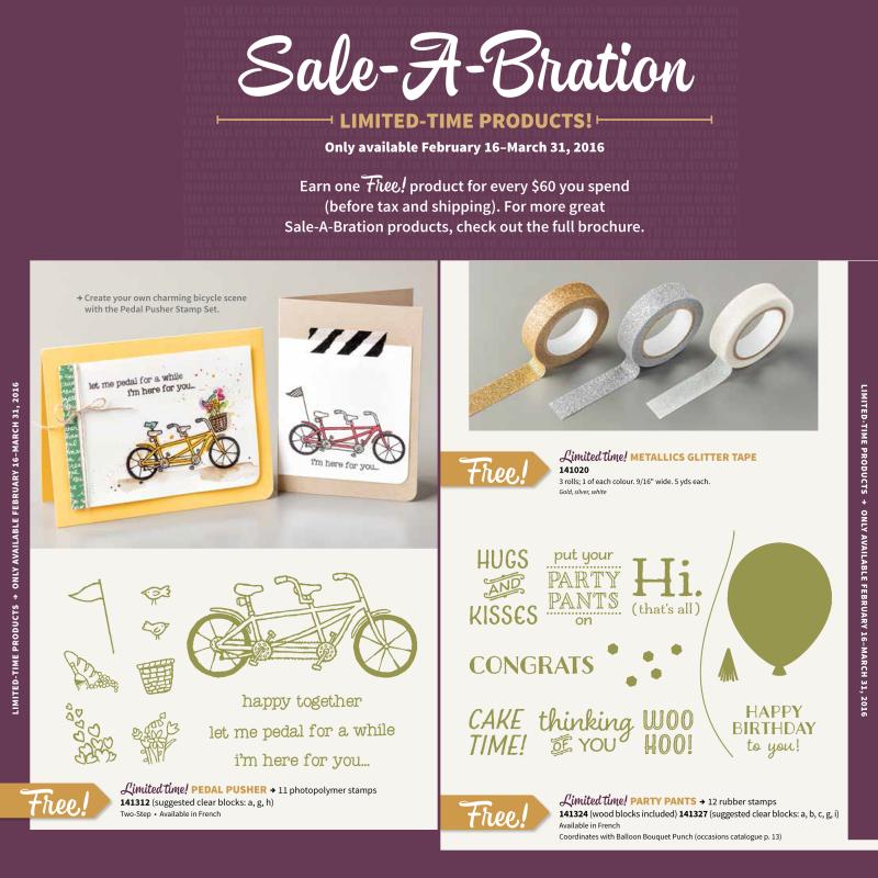 sale-a-bration freebies