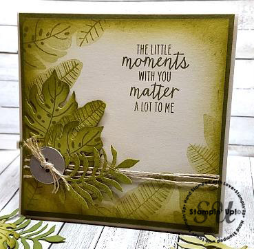 Botanical Blooms, Watercolor Wings, Stampin Up, hand made card, hand stamped,