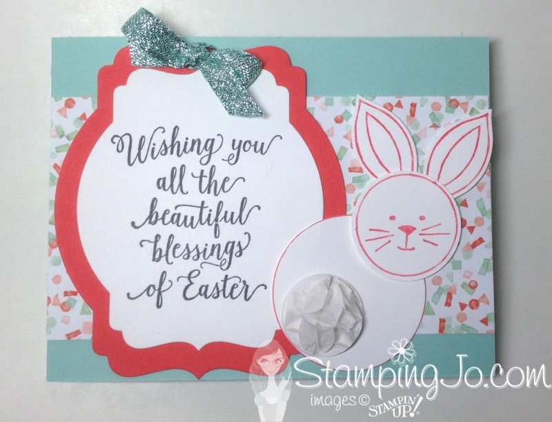 StampingJo Friends & Flowers bunny, Suite Sayings