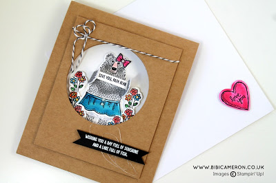 bear hugs Stamp set by Bibi Cameron