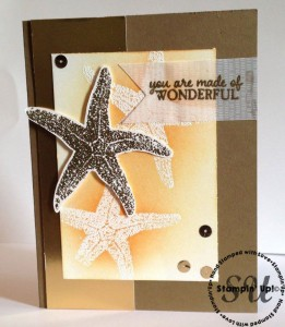 Picture Perfect, hand made card, Stampin' Up