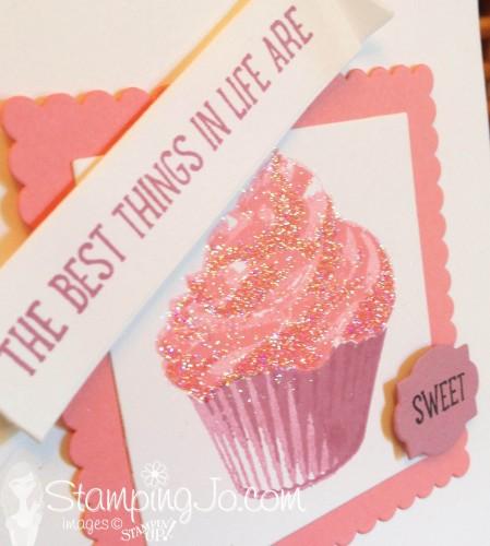 Sweet Cupcake glitter by StampingJo