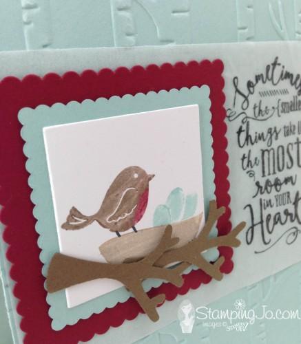 Swirly Bird Bird's Nest2 by StampingJo