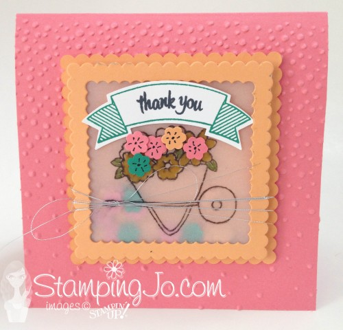 You're Sublime Shaker Card by StampingJo