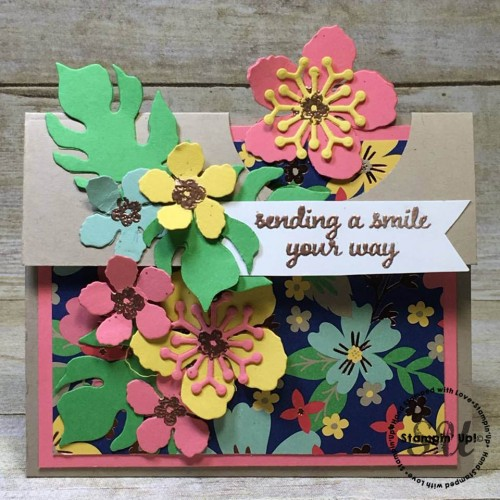 Love and Affection, Botanical Builders, flowers, Stampin' Up