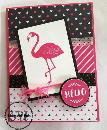 Pop of Paradise by Stampin Up