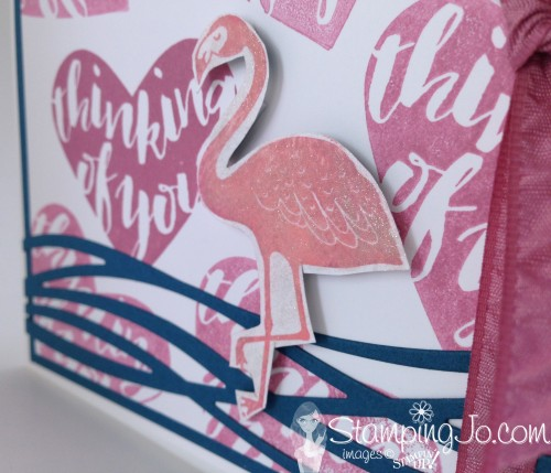 Pop of Paradise Flamingo by StampingJo