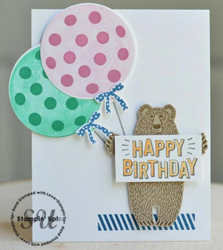 bear hugs, Stampin' Up