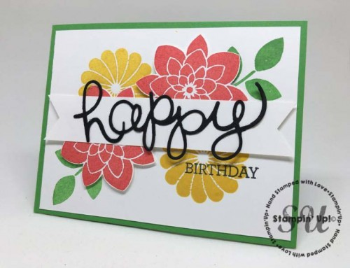 crazy about you, stampin up