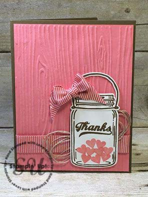 Jar of Love, Stampin Up