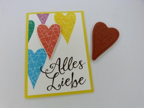 stempelitis, Alles Liebe, Karte, Summer Sorbet, stampinup by Anja Reuss